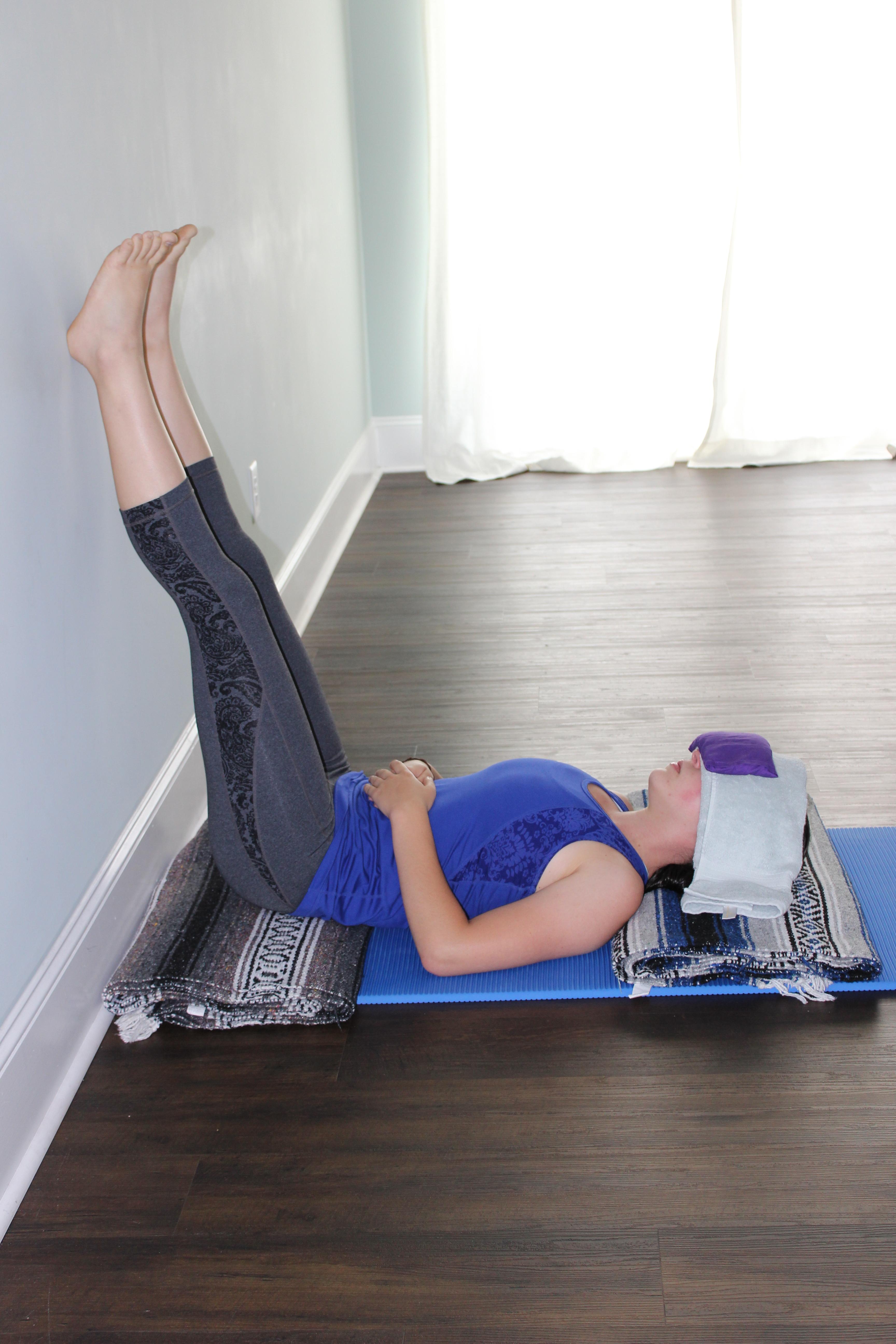Restorative Yoga Practice Poses For Depression Giving